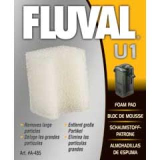 Губка для фильтра  Fluval U1 (2шт) 60х85х15мм
