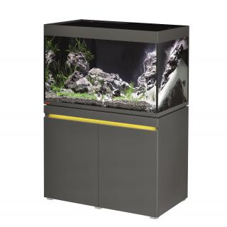 Комплект аквариум с тумбой EHEIM incpiria 330 графит (декоративная LED подсветка тумбы)