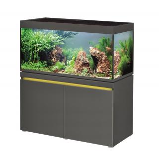 Комплект аквариум с тумбой EHEIM incpiria 430 графит (декоративная LED подсветка тумбы)