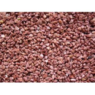 Грунт Кварц натуральный красный 3-4мм 5кг
