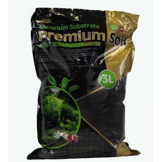 Субстрат для аквариумных растений и креветок премиум класса 3л,  гранулы 3,5мм