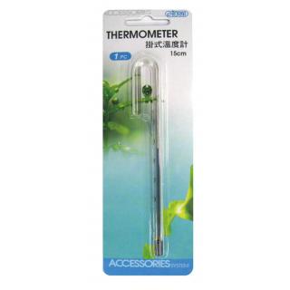 Термометр аквариумный навесной 15см