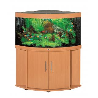Комплект аквариум с тумбой JUWEL Тригон 350 бук + Тумба для Тригон 350 SB бук