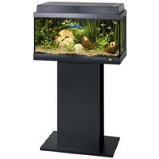 Тумба для аквариума JUWEL Рекорд 600/700, Примо 60/70 черная 61x31x62см