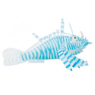 Крылатка силиконовая на присоске, синяя