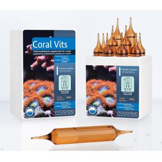 Coral Vits жиро и водорастворимые витамины для кораллов (10шт) для акв. от 1000 до 20000л.