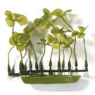 Растение пластиковое зеленое Четырехлистник