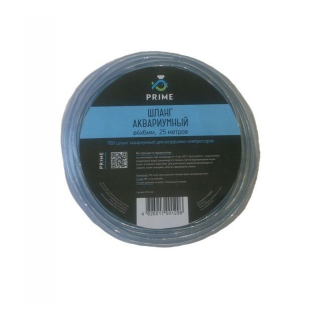 Шланг ПВХ PRIME прозрачный 4х6мм, длина 25м