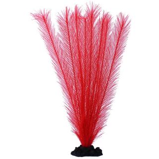Растение шелковое PRIME Перистолистник, красное 30см