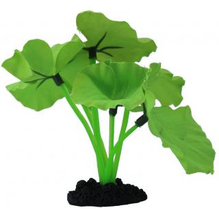 Растение шелковое PRIME Нимфея, зеленое 30см