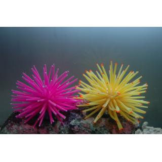 Коралл силиконовый на керамической основе, зеленый, 4.5х4.5х4см (RT172SG)