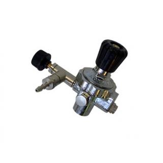 Редуктор СО2 тонкой регулировки для незаправляемых баллонов, с обратным клапаном
