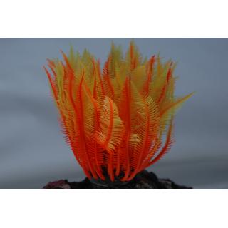 Коралл силиконовый желто-красный 4х4х12см (SH131SRY)