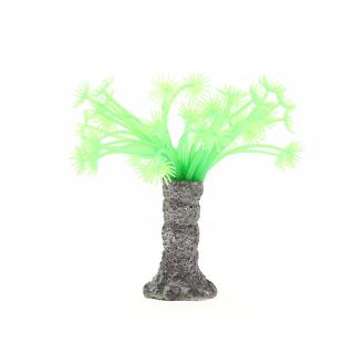 Коралл силиконовый зеленый 3.5х3.5х14см (SH139G)