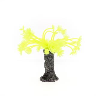 Коралл силиконовый желтый 3.5х3.5х14см (SH139Y)
