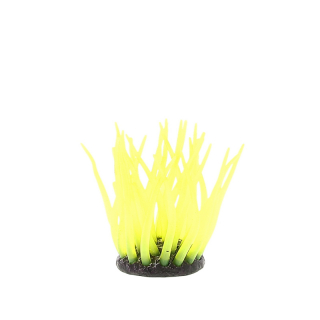Коралл силиконовый желтый 5.5х5.5х10см (SH499Y)