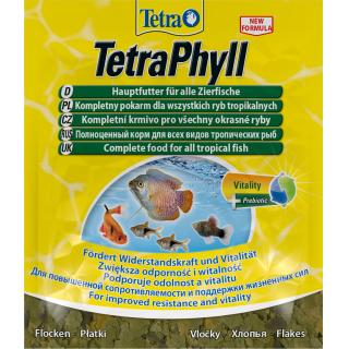 Корм для рыб TetraPhyll пакет  12г