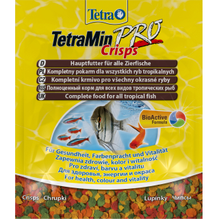 Корм для рыб TetraMin Crisps пакет 12гр