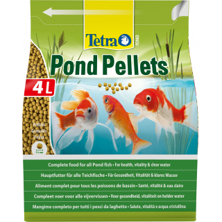 Корм для прудовых рыб Tetra Pond Pellets шарики  4л/1030г