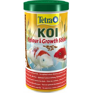 Pond KoiSticks Growth 1л, корм для прудовых рыб, гранулы для роста