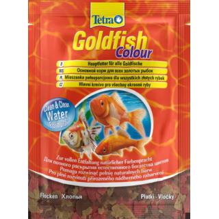 Tetra Goldfish Colour 12 гр пакет хлопья