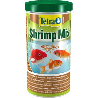 Корм для прудовых рыб Tetra Pond Shrimp Mix  смесь из креветок и гаммаруса 1л