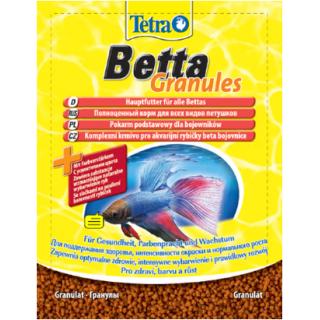 TetraBetta Granules Sachet пакет 5гр гранулы