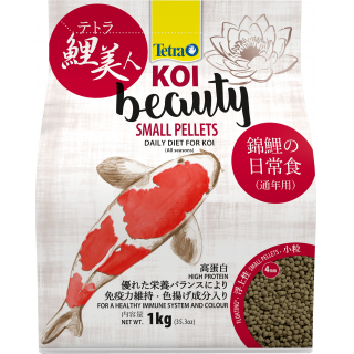 Корм для прудовых рыб Tetra KOI Beauty Small 4л