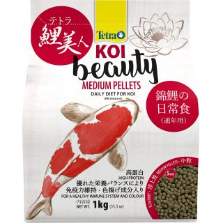 Корм для прудовых рыб Tetra KOI Beauty Medium 4л