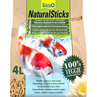 Корм для прудовых рыб Tetra Natural Sticks 4л