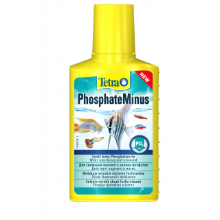 Кондиционер Tetra PhosphateMinus 100мл  для снижения высокого уровня фосфатов в аквариумной воде, на 400л воды