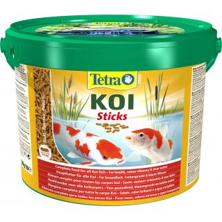 Pond KoiSticks 10л, корм для прудовых рыб, гранулы для роста