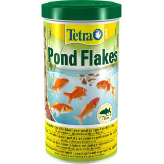 Pond Flakes 1л, корм для прудовых молодых рыб хлопья
